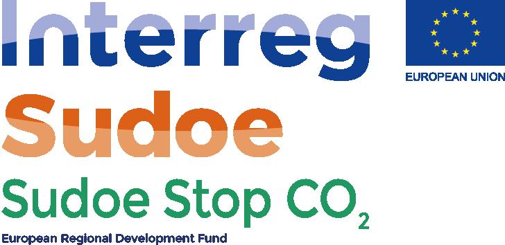 Logo Interreg Sudoe STOP CO2
